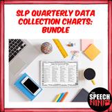 SLP Quarterly Data Collection Charts: Bundle
