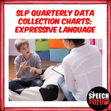 SLP Quarterly Data Collection Charts: Expressive Language and Grammar