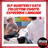 SLP Quarterly Data Collection Charts: Expressive Language