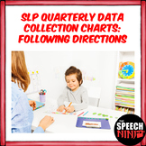 SLP Quarterly Data Collection Charts: Following Directions