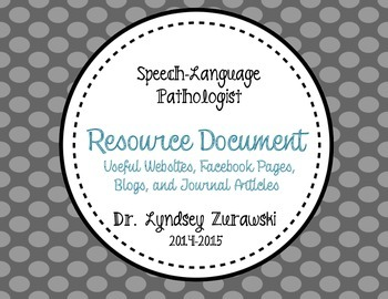 SLP Resource Document