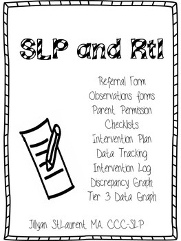 SLP RtI Documentation