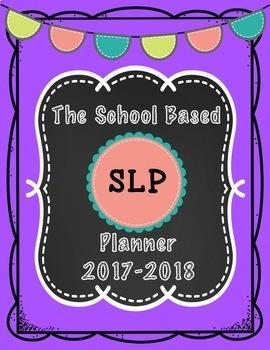 SLP School Planner 2017-2018