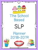 SLP School Planner 2018-2019