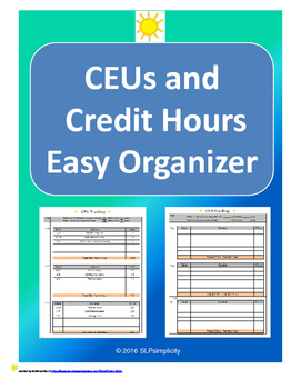 CEU and Credit Hour Tracking