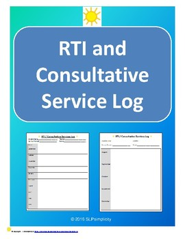RTI and Consult Service Log