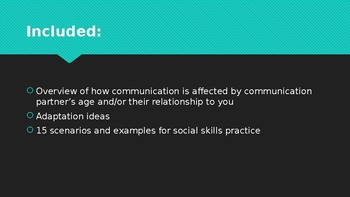 SLP Social Skills: How Age and Relationship Impact Communication