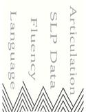 "SLP Speech Therapy Modern Binder Spines for 2"" Binders"
