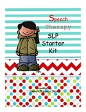 Speech Therapy Starter Kit Blank Forms for the Beginning of the Year