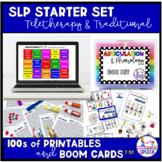 SLP Starter Set: Teletherapy & Traditional