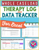 SLP Therapy Log and Data Tracker for the Whole Caseload