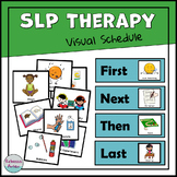SLP Therapy Visual Schedule