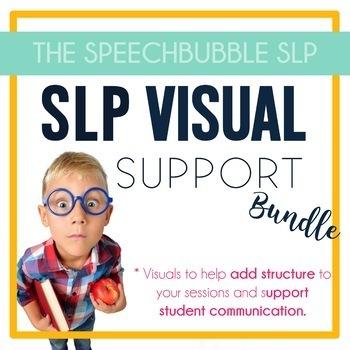 SLP Visual Support Bundle