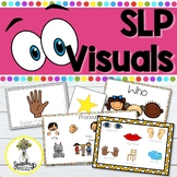 Speech Therapy Visuals - Visual Schedule & Visual Supports - Language & Fluency