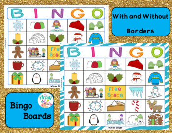 "Winter Bingo (""Wh"" Questions)"