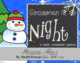 Snowmen At Night Book Companion Vocabulary Packet