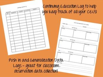 SLP/Teacher Documentation Super Pack/Starter Kit