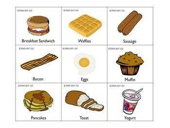 Breakfast Bunch: Language Activities for Push-In Speech & Language
