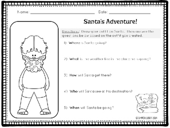 Santa's Stylist: Speech & Language Activities