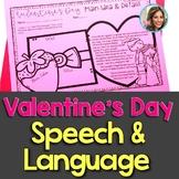 Valentine's Day Speech Therapy   Valentine's Day Speech and Language