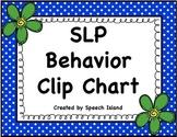 SLPs Behavior Clip Chart