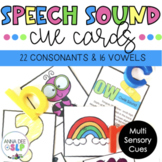 SLPs Just Wanna Have Cues: Speech Sound Cue Cards
