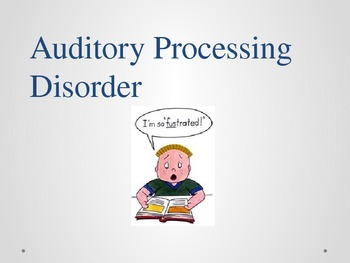 SLP's Role in Auditory Processing