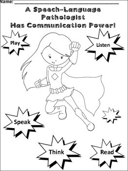 Better Speech and Hearing Month - SLPs have Superpowers