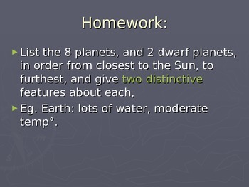 SLesson 05 Homework Answers to Gaseous Planet