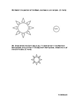 SLesson 08 Part 2 Quiz on Solar System