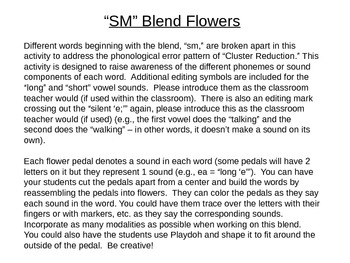 SM Blend Flowers to Address Cluster Reduction