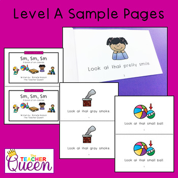 SM- Blend Readers Levels A and D (Printable and Projectable Books)