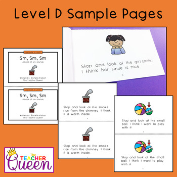 SM- Blend Readers Levels A and D (Printable Books and eBooks)