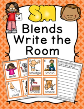 SM Blends Write the Room Activity
