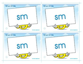 SM (Small Smile) Blend Buddy Card