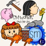 SM Words Clip Art