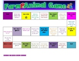 SMALL GROUP FARM ANIMAL BOARD GAME!