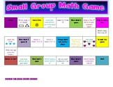 SMALL GROUP MATH GAME!