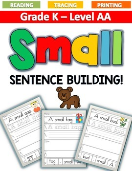 SMALL Sentence Building LEVEL AA