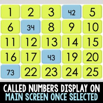SMART BOARD Place Value Build A Bingo - NO PREP