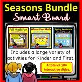 SMARTboard Seasons Math Activities Bundle