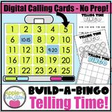 SMART BOARD Telling Time Build A Bingo - NO PREP