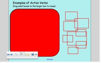 SMART Board Action and Linking Verbs