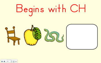 SMART Board Activity-Begins with CH