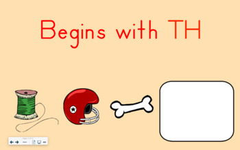 SMART Board Activity-Begins with TH