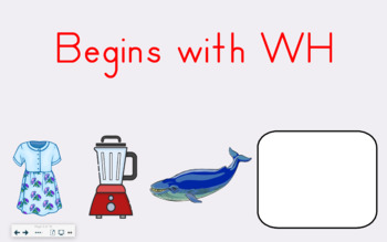 SMART Board Activity-Begins with WH