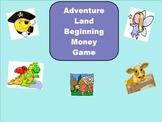 SMART Board: Adventure Land: Beginning Money: Math: Smartboard