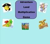 SMART Board: Adventure Land: Double Digit Multiplication: