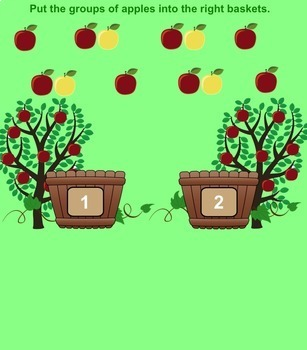 SMART Board Apple Counting
