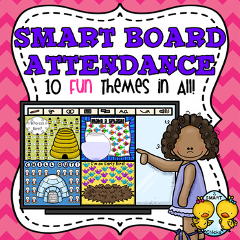 SMART Board Attendance: 10 Fun Themes in All!